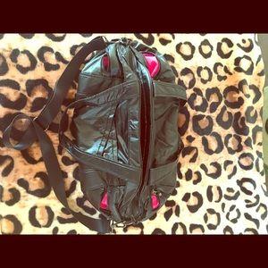 Nike Duffle Bag-Black w/ Pink Interior